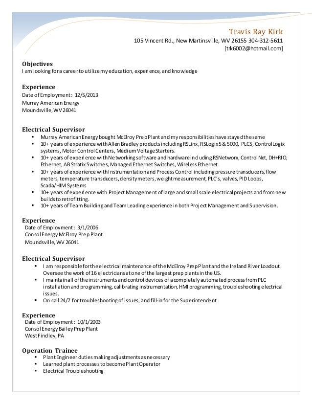 trk new resume