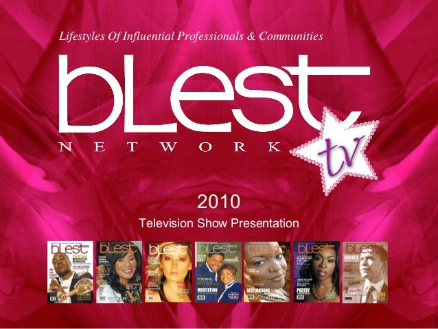 2010 Television Show Presentation Lifestyles Of Influential Professionals & Communities