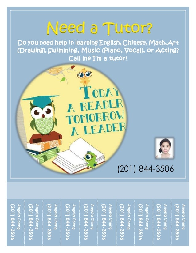 Tutoring Flyer Tutor Flyer  GoogleDa Ara  Best Tutoring