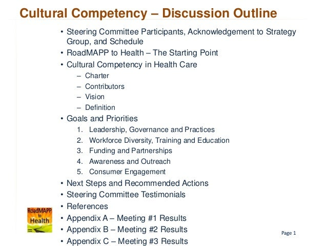 competence and commitment report essay Concept paper: cultural competence   must be aware of as they make the commitment to  to grow and the us surgeon general's report  3 mental.