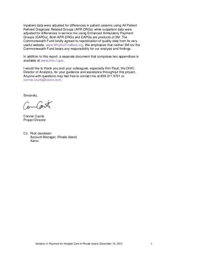 1_2012 Rhode Island Hospital Payment Study Final