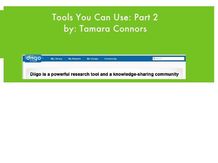 WEB 2.0 <ul><li>Tools U Can Use: Part 2 </li></ul><ul><li>by: Tamara Connors </li></ul>