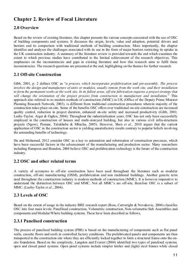 List Of Dissertation Topics About Construction Project Management