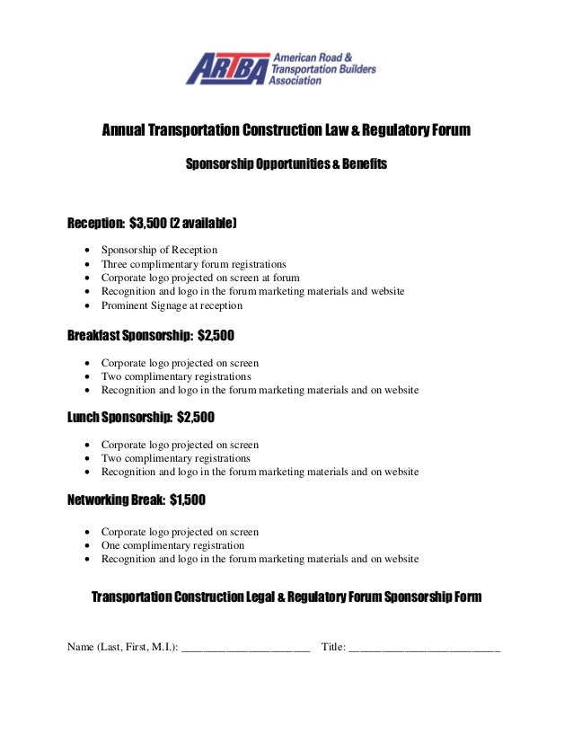 2014 Annual Transportation Construction Law & Regulatory Forum Sponso…