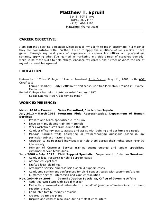 University Of Oklahoma Career Services Cover Letter Template
