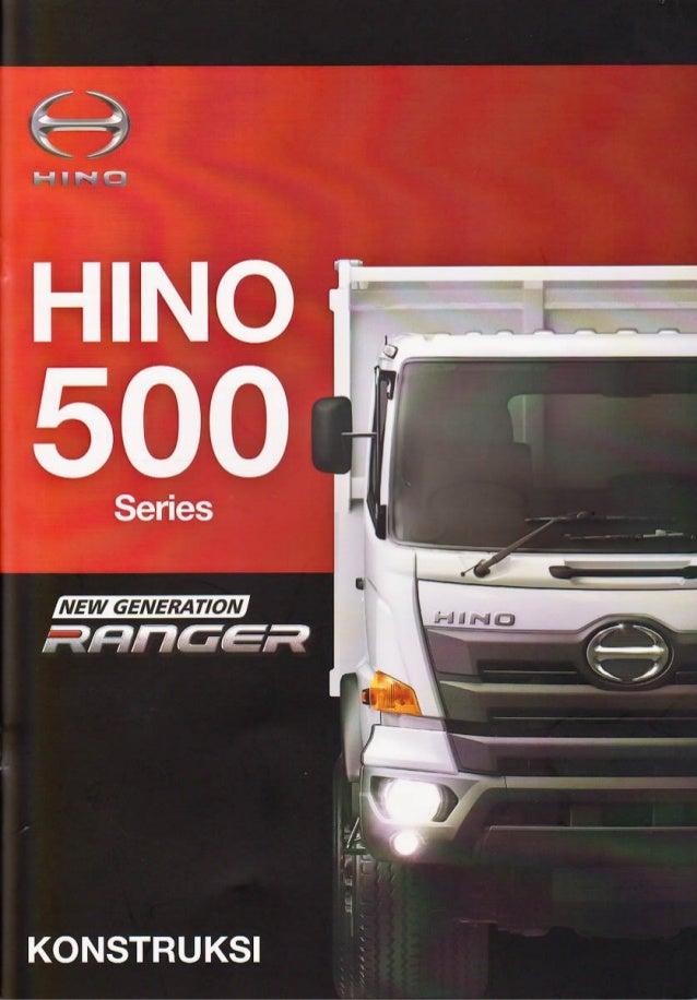 Hino Series 500 New Generation Ranger - Konstruksi Booklet Lo-Res (1)