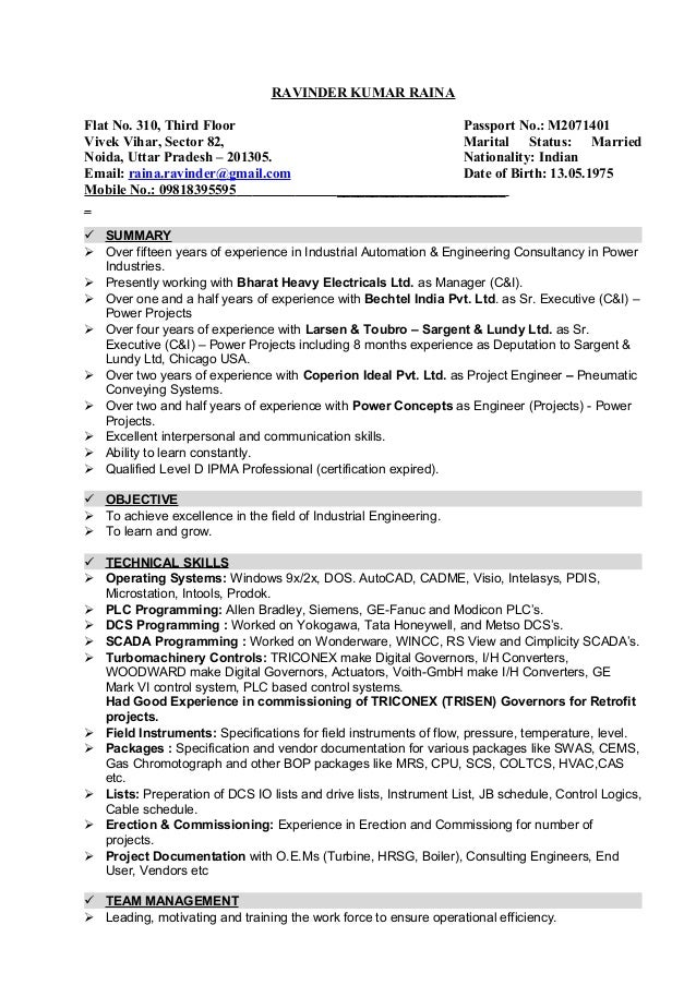 Resume dtd