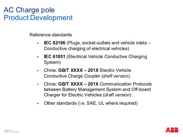 Ev Infrastructure Ac Charger Abb