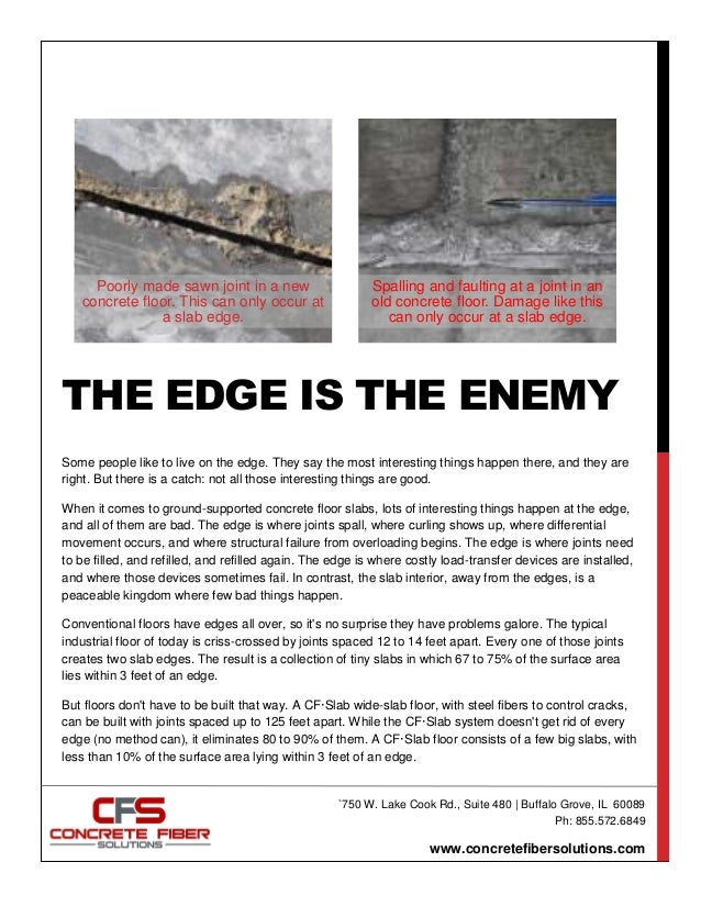 The Edge Is The Enemy