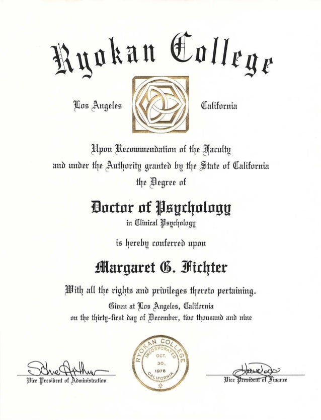 college doctor of psychology degree, Human Body