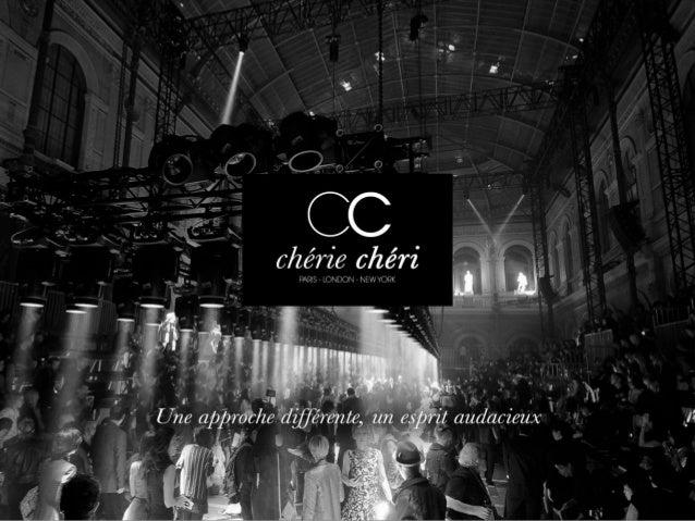 Chérie Chéri Event est spécialisée dans la conception et la réalisation d'événements institutionnels et privés. Fort de 13...