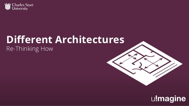 Different Architectures Re-Thinking How