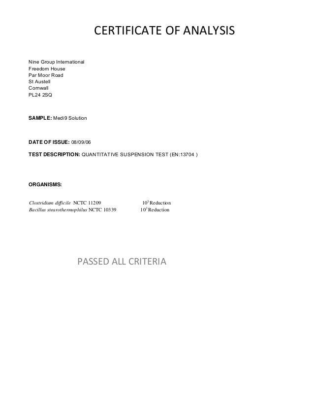 Medi9 Technical Data Ud Jan 15