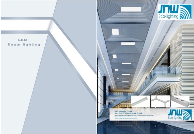 2017 jnw led panel light catalog
