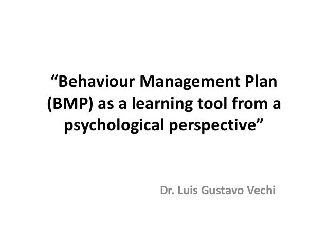 perspectives of management behaviour Motivation the desire to achieve a goal or a certain performance level, leading to goal-directed behavior is defined as the desire to achieve a goal or a certain performance level, leading to goal-directed behavior when we refer to someone as being motivated, we mean that the person is trying hard to accomplish a certain task.