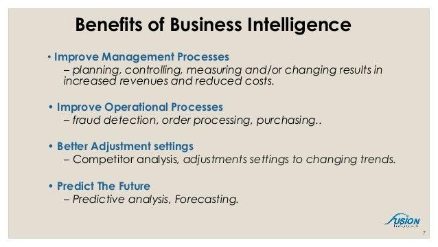 Business Intelligence Presentation 1 15th March 16