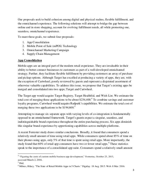 target case study Editor's note: this fictionalized case study will appear in a forthcoming issue of harvard business review, along with commentary from experts and readers if you'd like your comment to be.