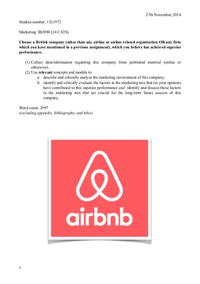 Airbnb Marketing Report