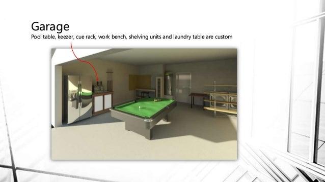 Revit House Project - Revit pool table