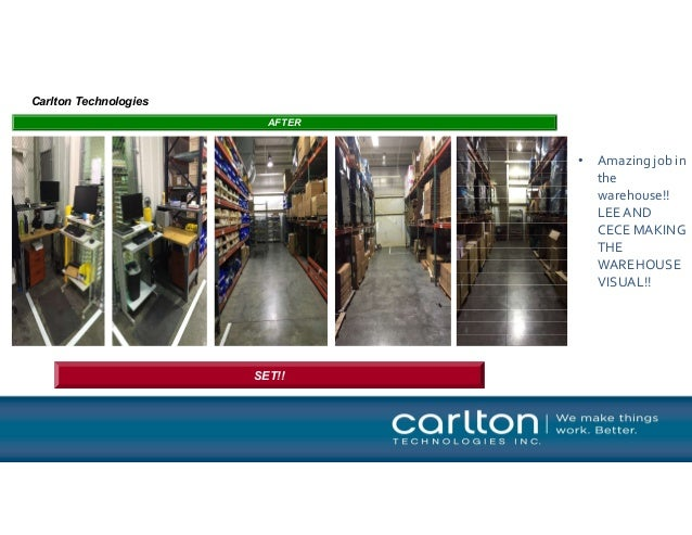 5s Warehouse Implementation Success Story