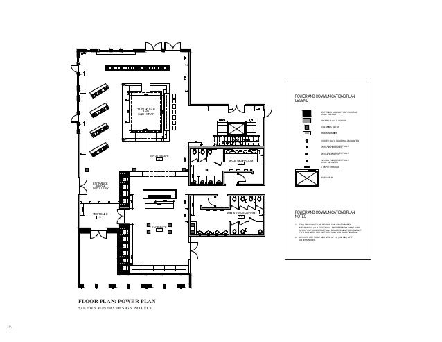 PLAN STREWN WINERY DESIGN PROJECT 24 INSPIRATION FOR MATERIAL