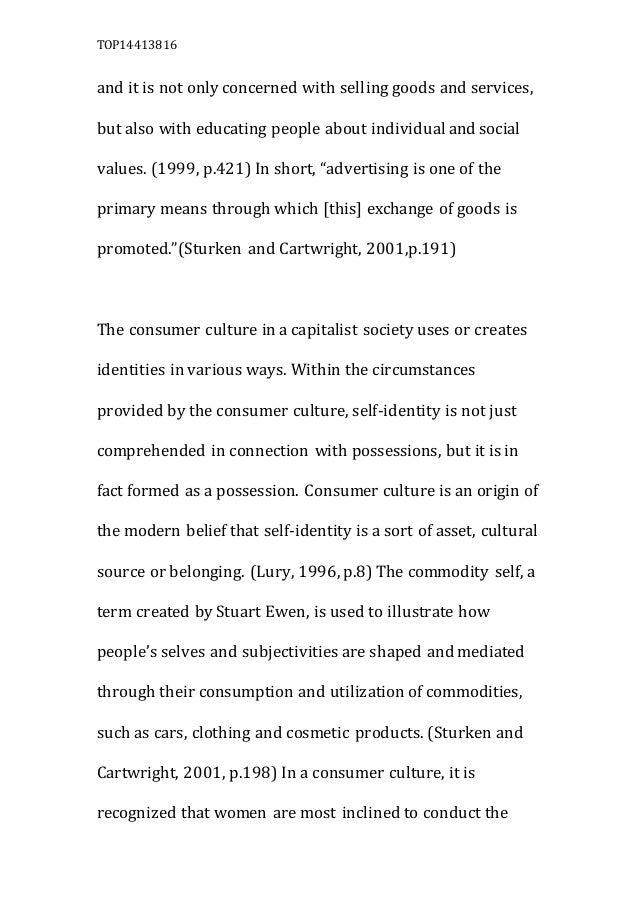 consumer culture essay  5