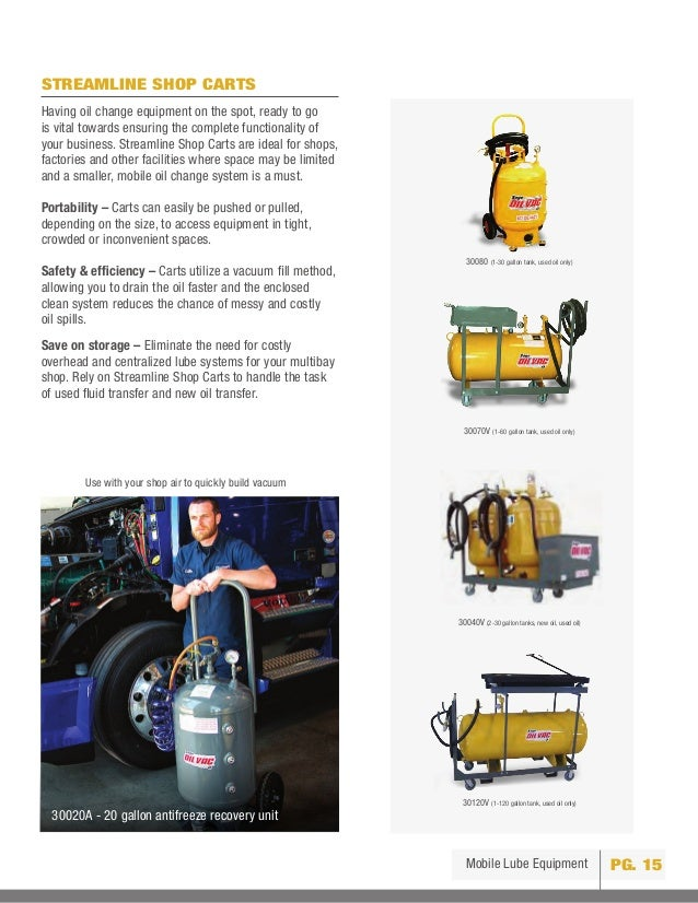 Types of Oil Change Opportunities