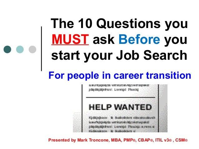 mba job search