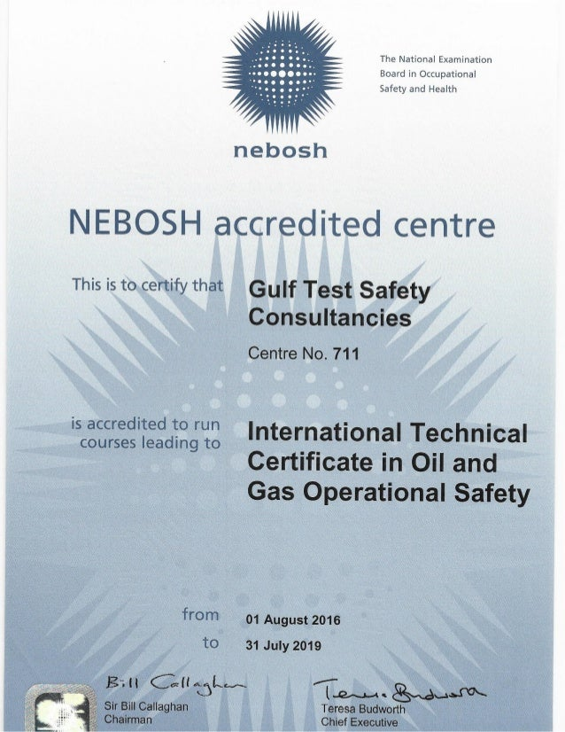 Nebosh Oil and Gas opearational safety certificate (2)