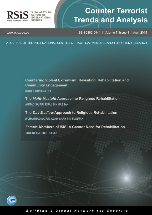 3 Volume 7, Issue 3 | April 2015Counter Terrorist Trends and Analysis The Da'i-Mad'uw Approach to Religious Rehabilitation...