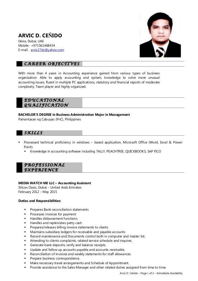 arvic cenido resume