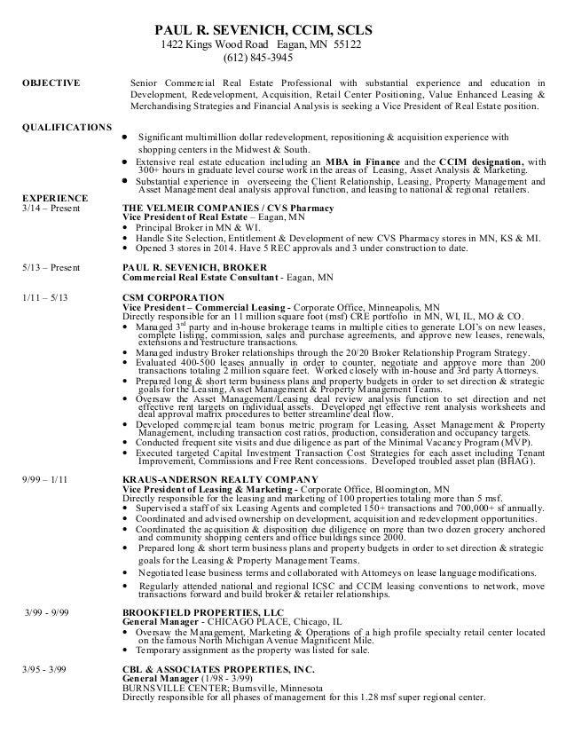 Sevenich Resume 2015
