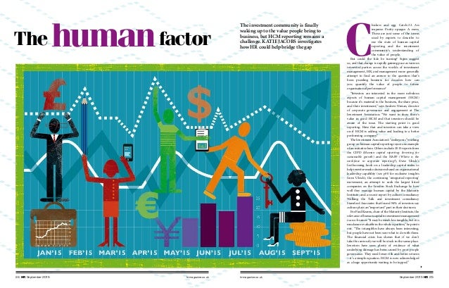 hrmagazine.co.uk September 2015 HR 2524 HR September 2015 hrmagazine.co.uk The humanfactor C hicken and egg. Catch-22. An ...