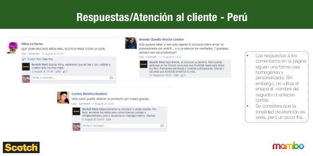 Respuestas/Atención al cliente - Ecuador § No existe una interacción con la comunidad. Las consultas y los comentarios, ...