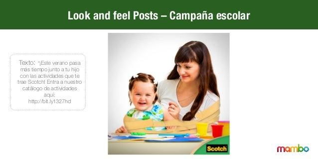 """Look and feel Posts – Campaña escolar Texto: """"Cambia tu forma de dibujar con la nueva línea escolar de Scotch"""""""