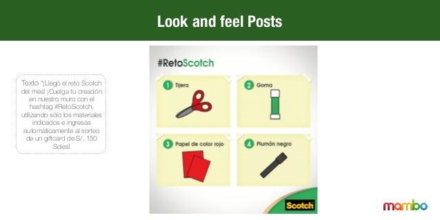 """Texto """"¡Simplifica tus proyectos con el adhesivo multiusos en spray de Scotch! .""""  Look and feel Posts"""