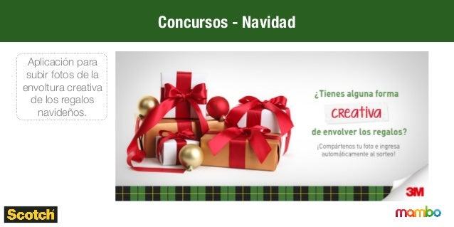 Concursos – Día de la madre Aplicación para subir fotos de la envoltura creativa de los regalos navideños.