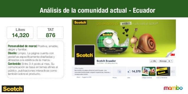 Análisis del contenido actual - Perú 39% 5% 27% 2% 27% Tipo de post Interactivo Concurso Producto Ecológico DIY 0 50 100 1...