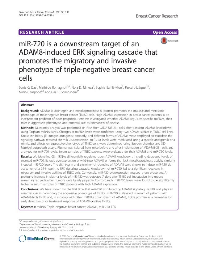 Research papers on breast cancer