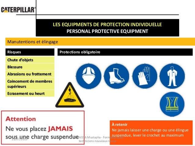 f0911cb1b3423 Safety at work PPE   Travailer en securite EPI
