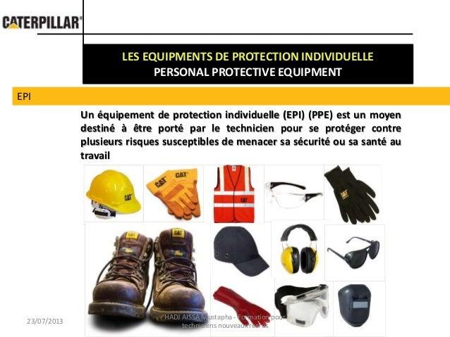 Safety at work PPE / Travailer en securite EPI