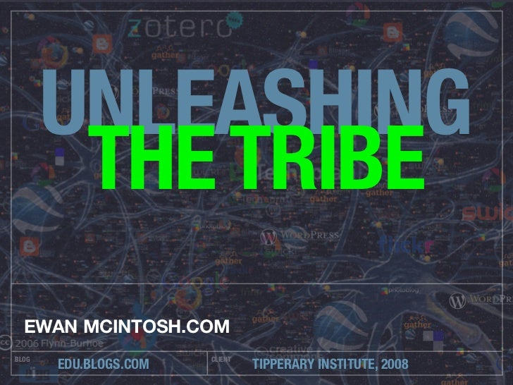 Unleashing The Tribe: small passionate communities Slide 2