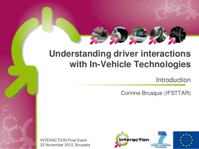 Understanding driver interactions        with In-Vehicle Technologies                                         Introduction...