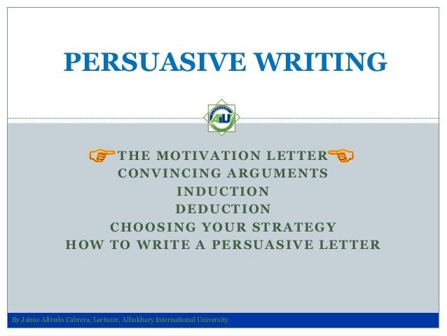 Persuasive Writing Skills for Job Application Letters