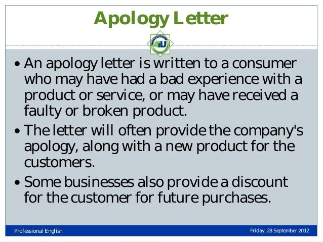 Formal Apology Letter Example Image Titled Write An Apology