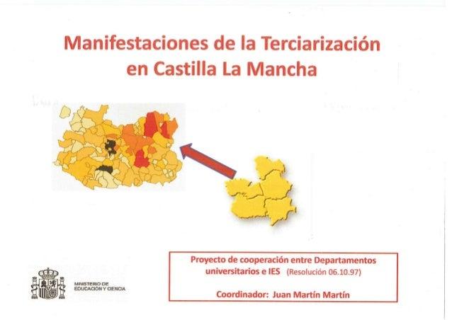 Manifestaciones de la Terciarización en Castilla la Mancha