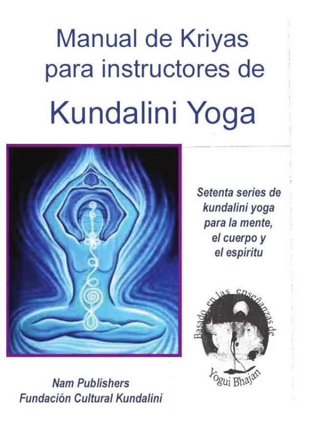 kundalini - manual para maestros (tomo I) Slide 1