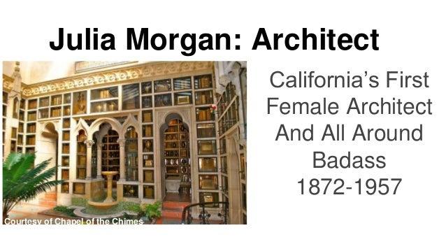 Information Architecture Architect Story Julia Morgan