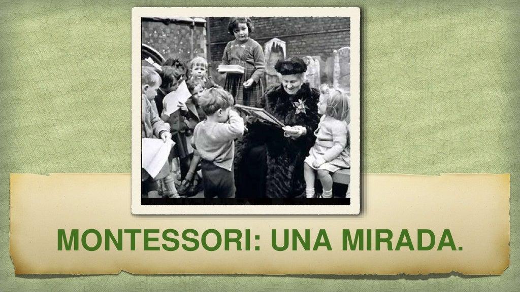 Experiencias #EABE15 -Mirada Montessori