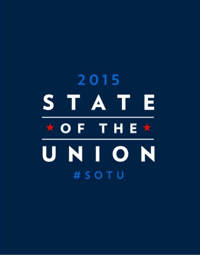 2015  S'TlT'E  *OFTHE*  UI4|()hl  #SOTU